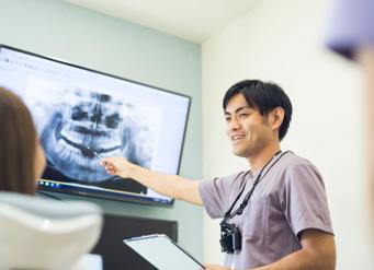 歯を残す大切さを伝える役目