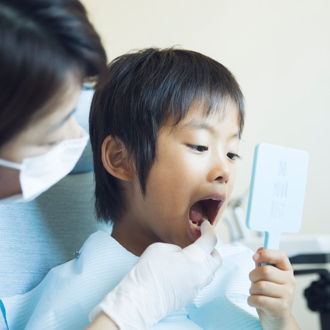 お子さんにも、病状や治療をきちんと説明。